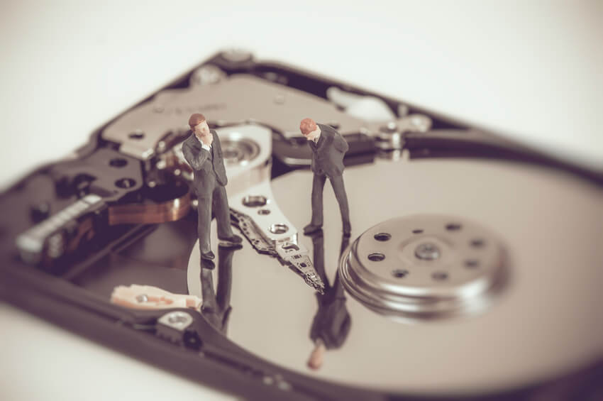 device security and hard drive destruction
